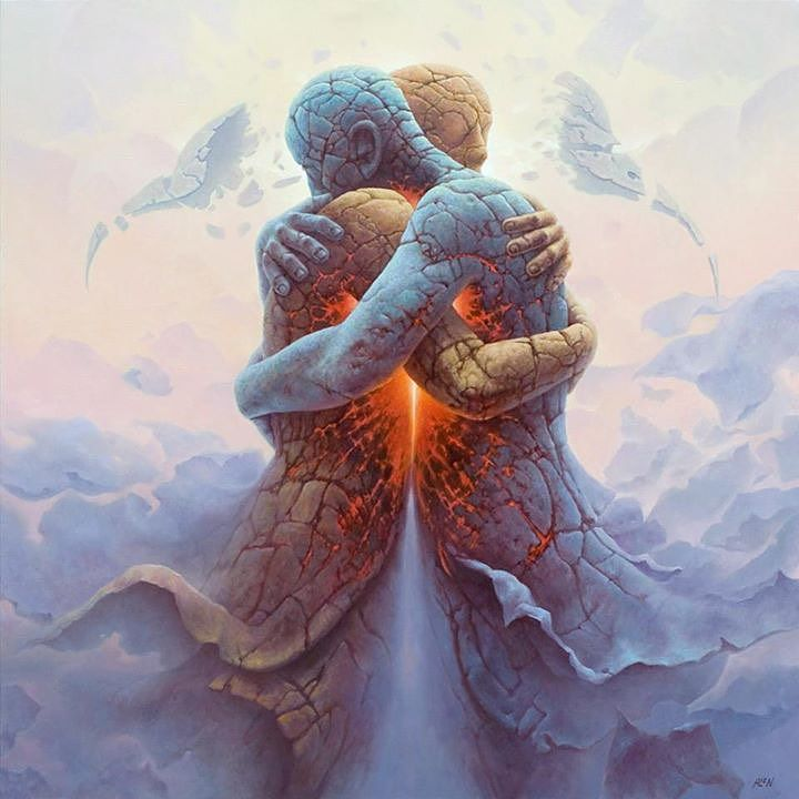 There are many ways to Reach Creator, i Choose LOVE ~ Rumi.